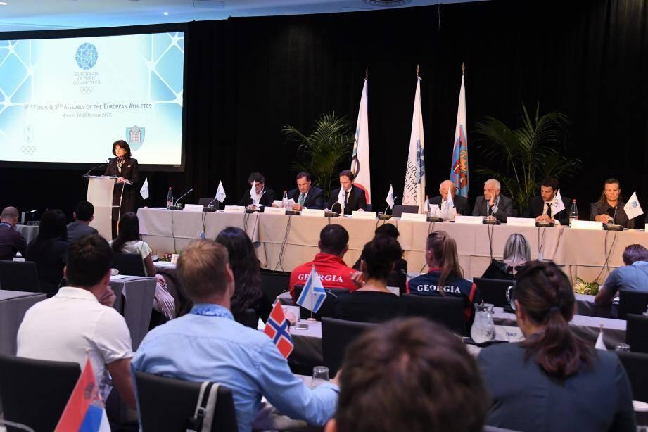 Le Comité Olympique Monégasque se tient jusqu'à ce vendredi.