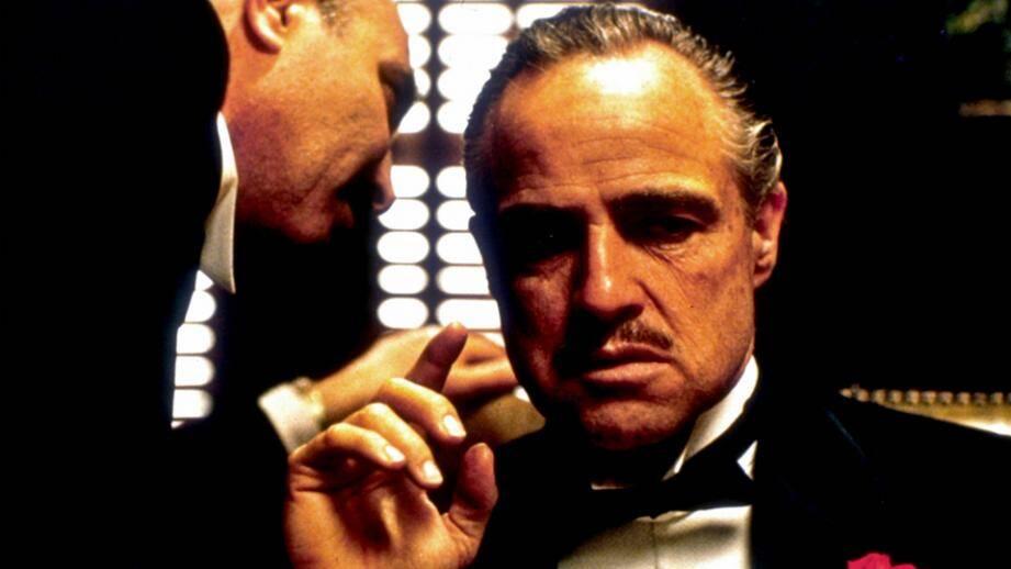 Capture d'écran du film Le Parrain, réalisé par Francis Ford Coppola.