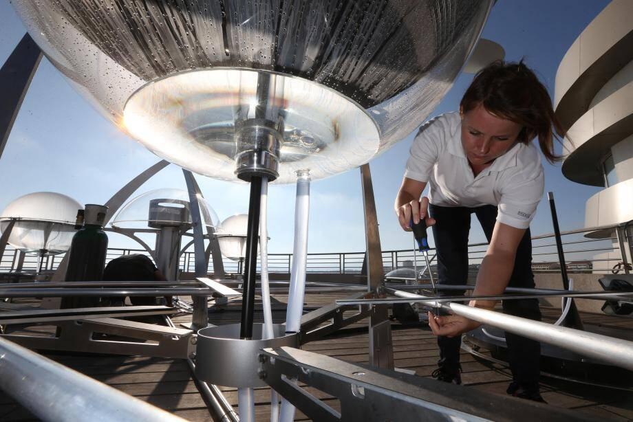 La technologie Helio n'utilise, pour fonctionner, aucune énergie fossile.
