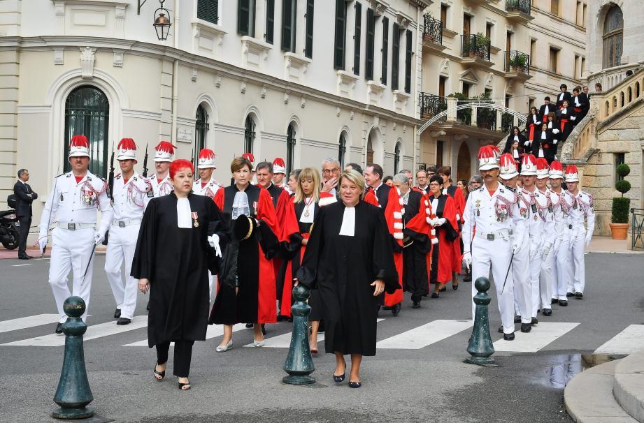 La rentrée judiciaire est l'occasion de faire le bilan de l'année.