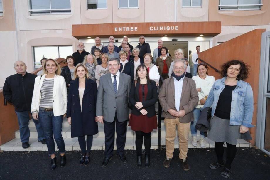 Les élus de l'ouest Var mobilisés contre la menace de fermeture de la clinique Malartic.