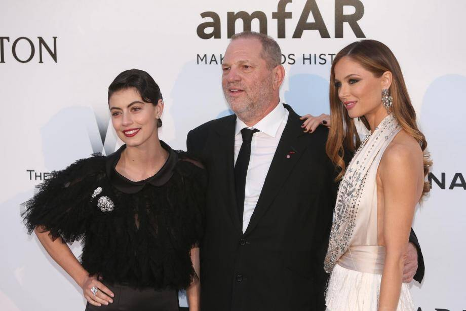 Harvey Weinstein au gala de l'amfAR en 2016