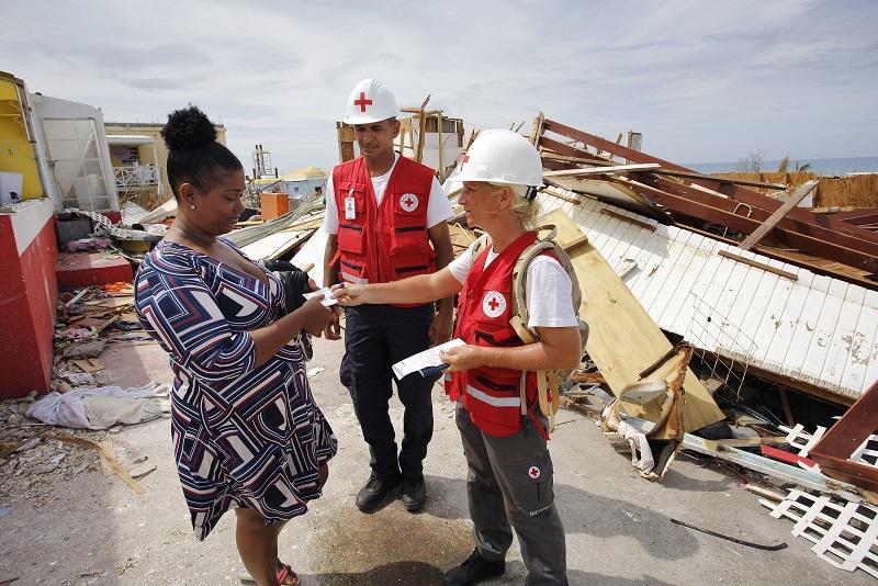 La Croix-Rouge française a immédiatement mobilisé ses ressources locales