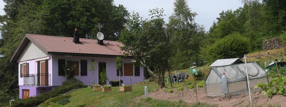 La maison des époux Jacob dans les Vosges.