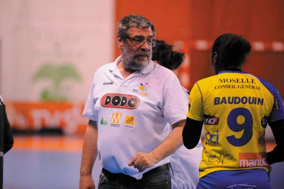 Multiple champion de France avec Metz, Sandor Rac souhaite remettre le TSCV «à la place qui était la sienne il y a quelques années ».