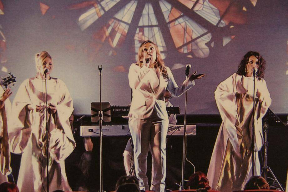 Les six musiciens et sept choristes de Divin'Gospel entreront en scène ce vendredi.(DR)