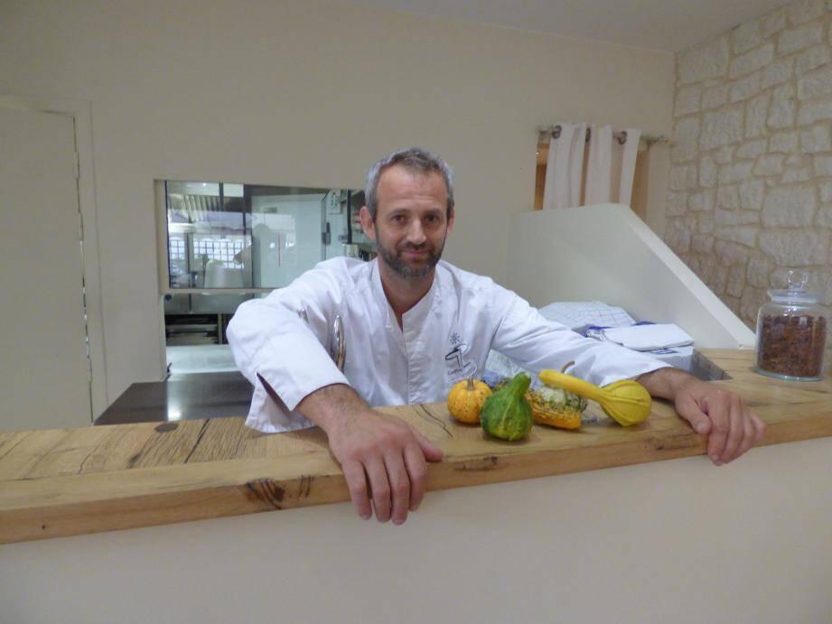 Le végétal est devenu l'identité du restaurant maximois la Badiane, du chef Geoffrey Poësson.(C.G.)