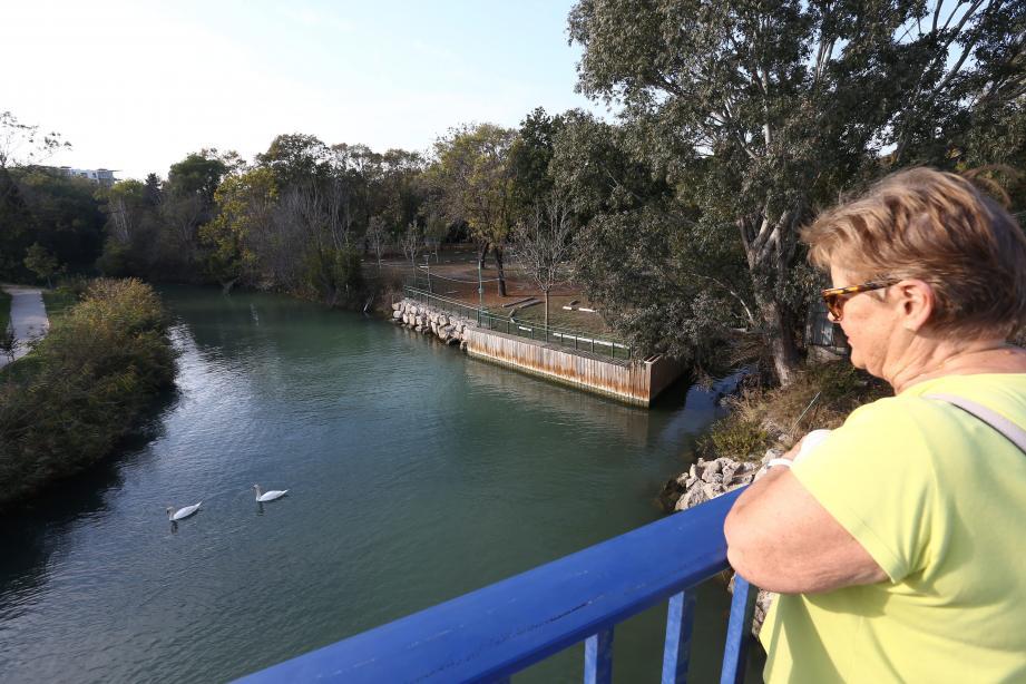 Une promenade écologique et touristique pourrait naître dans les prochains mois le long de la Brague.