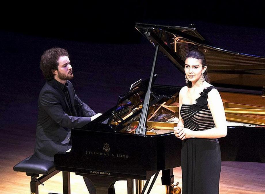 Laetitia Grimaldi et Ammiel Bushakevitz.