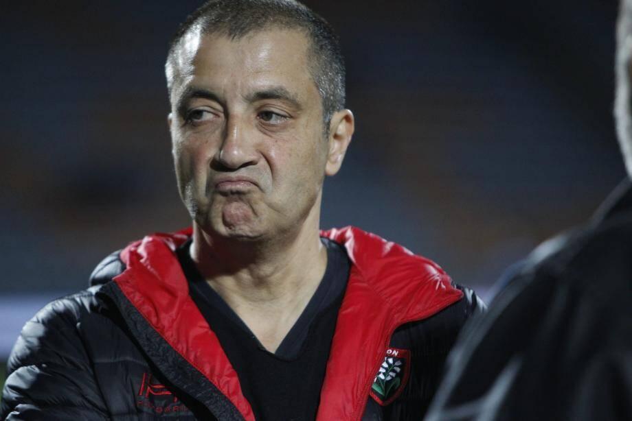 Pour son premier déplacement de la saison, Mourad Boudjellal avait de quoi tirer la gueule.
