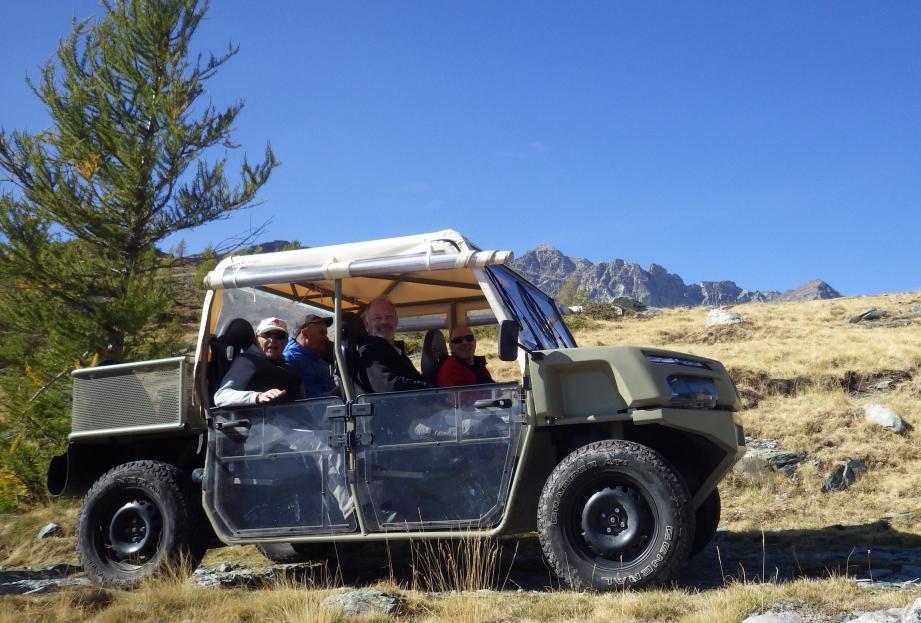 Little Bego : de belles promesses pour un véhicule électrique très proche de la nature, offrant confort et sécurité sur les pistes de  hautes montagnes. (DR)
