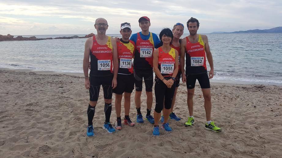 Marc Croset, Romain Onillon, Olivier Perret, Danielle Croset, Patrick Dumand et Olivier Falletti. (DR)