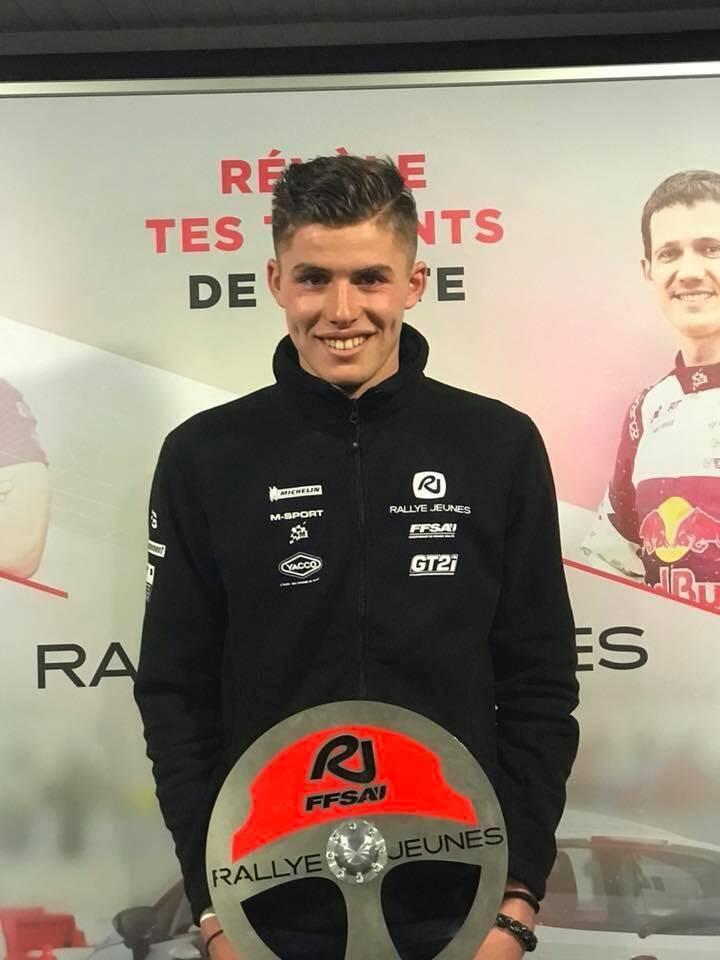 Désigné vainqueur de l'édition 2017 par le jury, hier soir à Lédenon, le Fayençois Mathieu Franceschi, 18 ans, rejoint Sébastien Ogier et Eric Camilli, entre autres, au palmarès de l'opération Rallye Jeunes.