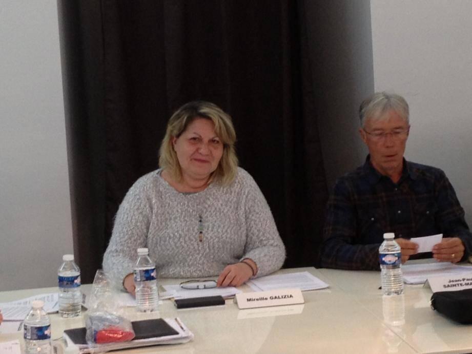 Mireille Galizia est désormais la 7e adjointe au maire, déléguée au commerce. Pour sa part, Henri Affre s'est vu désigner 8e adjoint, délégué aux associations.