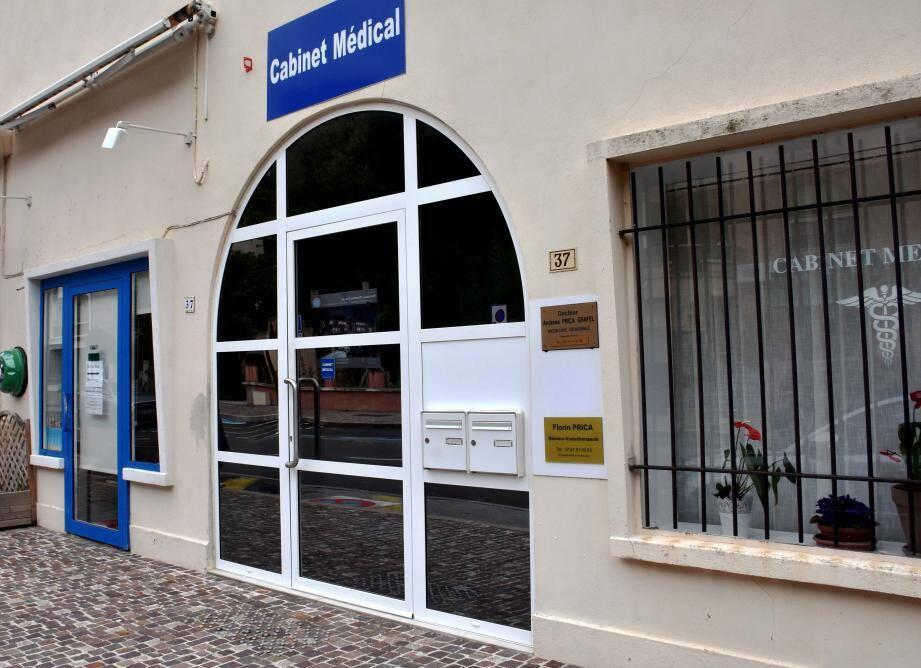 Le cabinet de l'avenue Gola accueille un médecin généraliste, un kinésithérapeute et un infirmier.