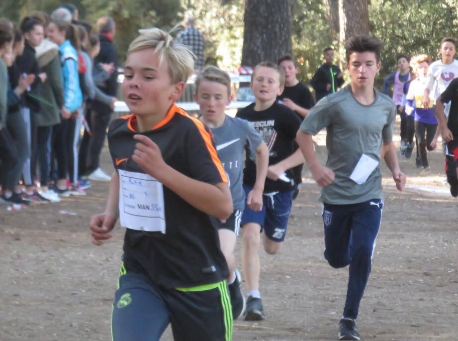 L'épreuve d'hier était qualificative pour les épreuves départementales de La Crau.