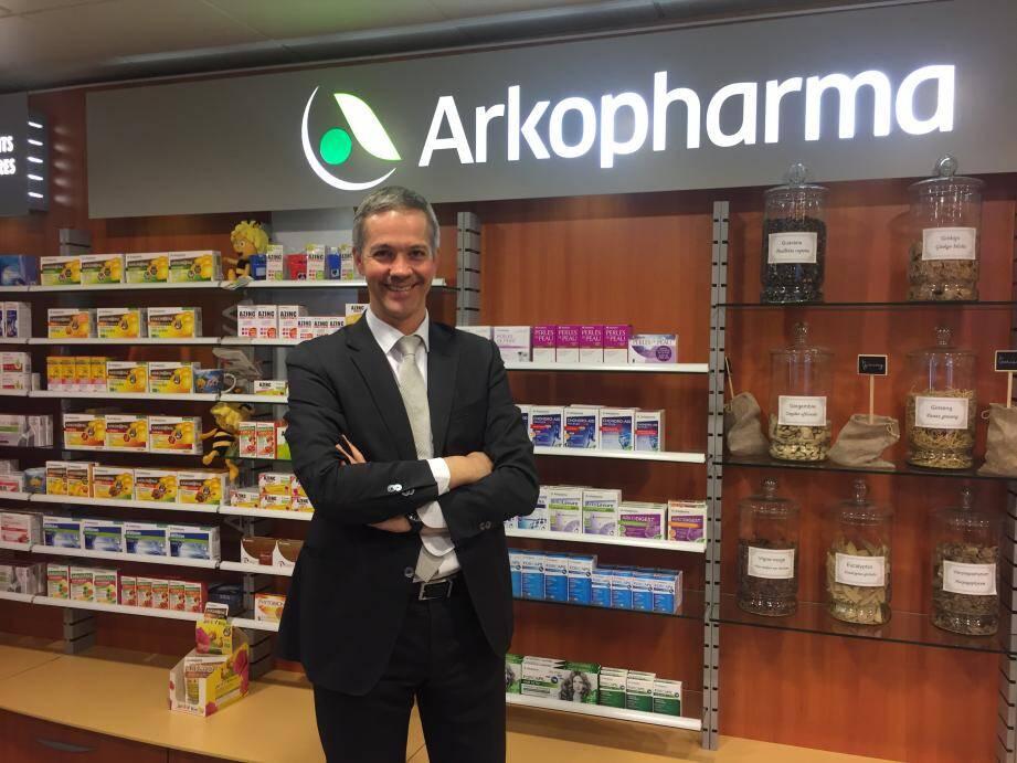 « Les consommateurs chinois sont très demandeurs de produits de santé de qualité issus du Fabriqué français », explique Yann Malaud, directeur du Pôle International d'Arkopharma.