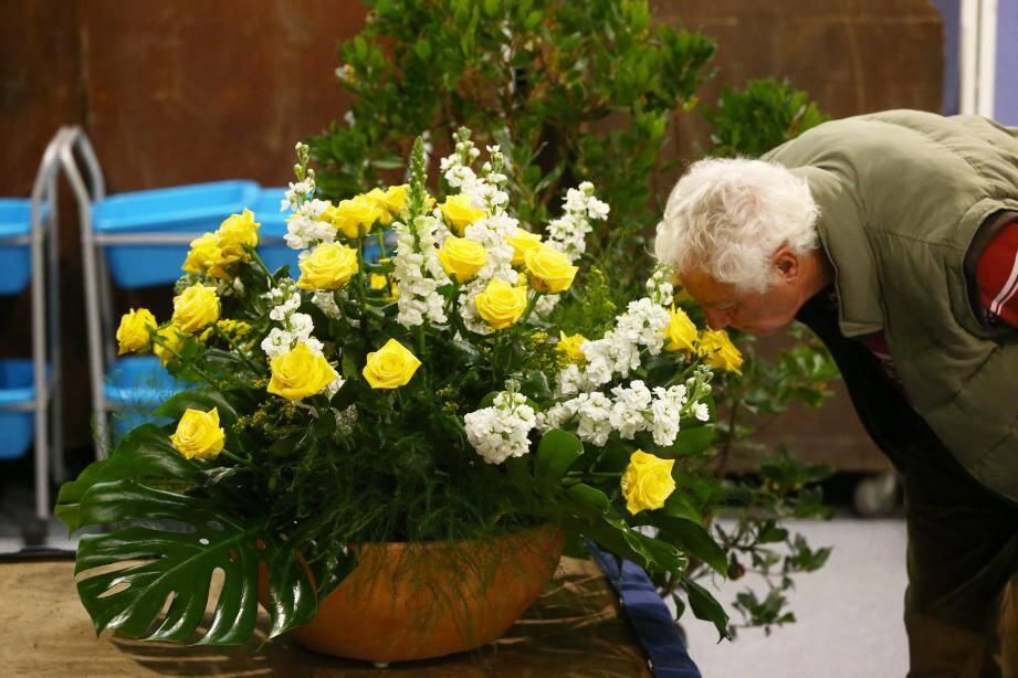 1 800 volatiles et des compositions florales sont à découvrir jusqu'à 18 heures aux espaces du Fort Carré.
