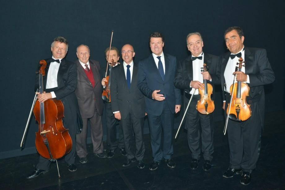 C'était il y a 4 ans... Aujourd'hui Christian Estrosi et Eric Ciotti n'accordent plus leurs violons.(DR)