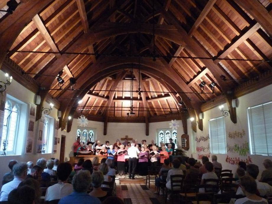 Pour fêter les 500 ans de la Réforme, la chapelle Victoria accueillera une conférence musicale demain puis, samedi 25, un concert. (Archives Nice-Matin)