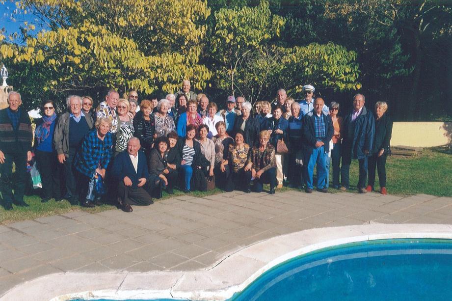 Le Club sans souci enregistre toujours une grande participation des aînés à ses manifestations, sorties et voyages, comme ici en Espagne. (DR)
