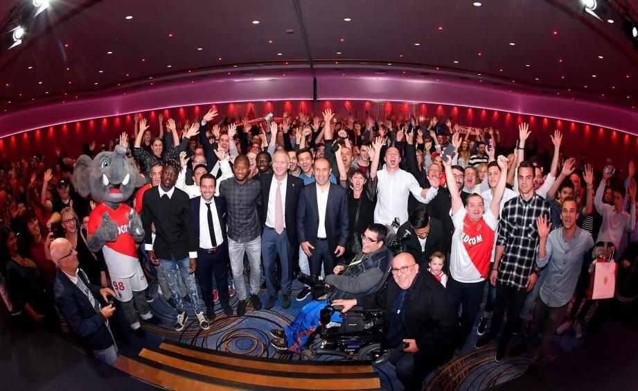 550 fans ont participé à cette 3e édition de la « Soirée des abonnés », organisée au Fairmont Monte-Carlo.