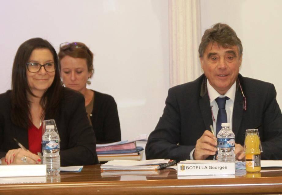 Emmanuelle Cennamo et Georges Botella.