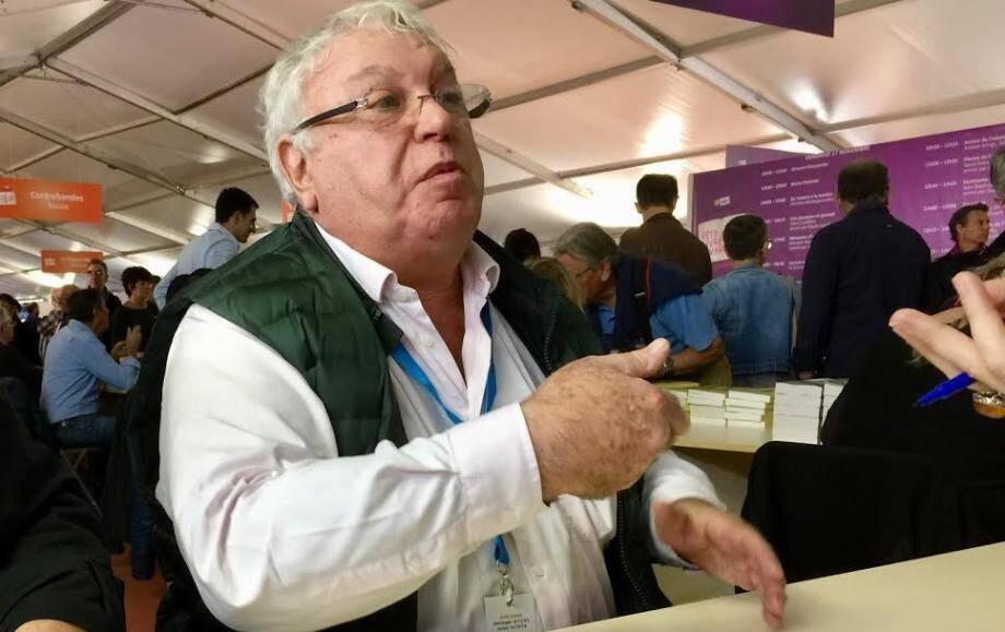 Gérard Filoche à la Fête du livre du Var à Toulon : « J'ai dit que c'était une connerie. Je hais l'antisémitisme, je hais le racisme, et je hais ceux qui pensent ça de moi ».