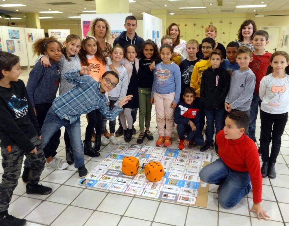 La classe de CM1 A de Mme Levain de l'école Maurice-Delplace a beaucoup apprécié.