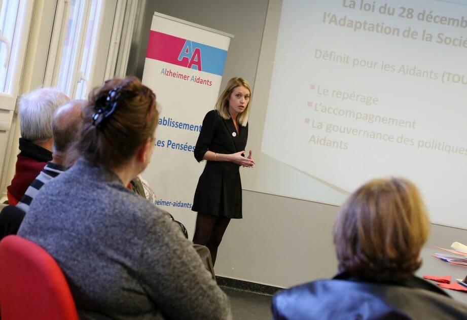 Les aidants étaient invités par l'association AA83, dans la salle des commissions de l'hôpital de Brignoles, pour la présentation de ce nouveau service.