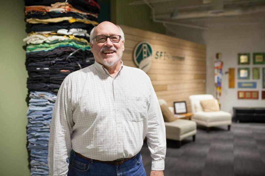 Kevin Drew est coordinateur du programme « Zéro déchet » à San Francisco, une ville exemplaire en matière de gestion des ordures ménagères.