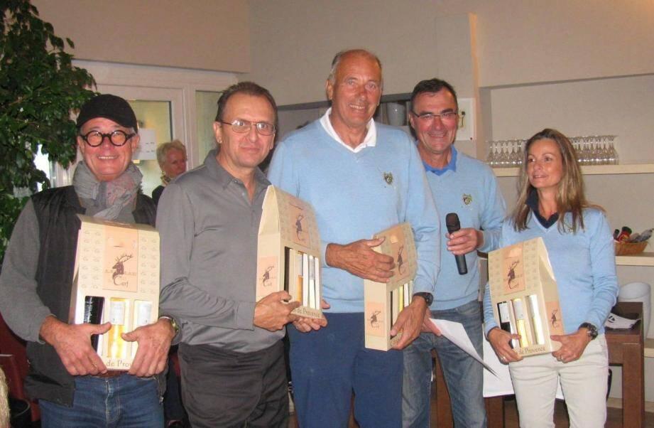 L'équipe de Valcros avec Isabelle Regal, Jean-Claude Luneau, Gérard Serre, Finn Sperling et Gilles Renaud a régné sur ses terres.