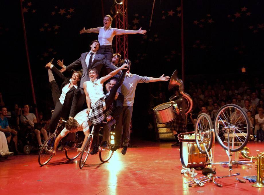 Du cirque contemporain, ce week-end.
