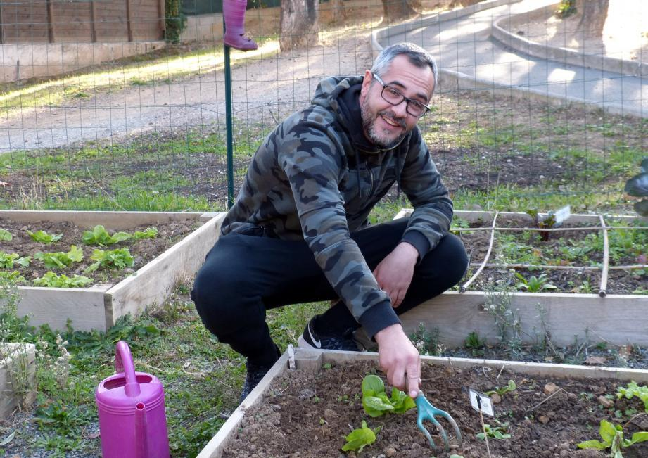 David Beaulieu développe des activités autour de l'environnement.