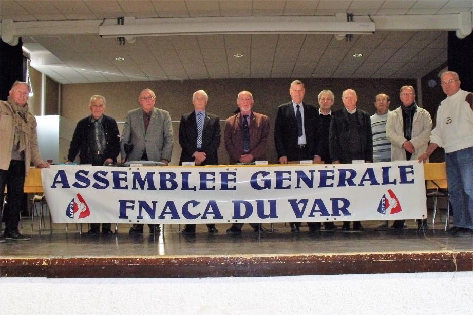 Le bureau départemental de la FNACA entretient la mémoire des hommes morts au combat en Afrique du Nord.