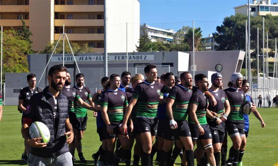 Les Noir et Vert avancent, décidés, vers le derby varois.