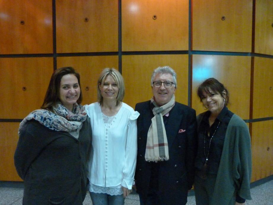 Nathalie Viteau, présidente de la Fnadepa du Var (à gauche), en présence de membres du conseil d'administration.