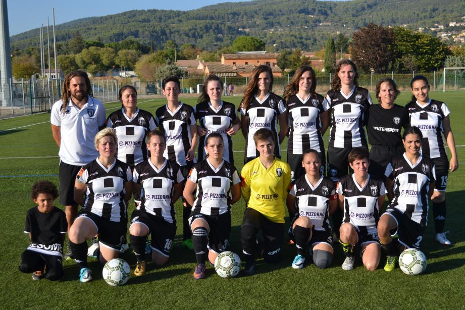 Les féminines du SC Draguignan, version 2017-2018.
