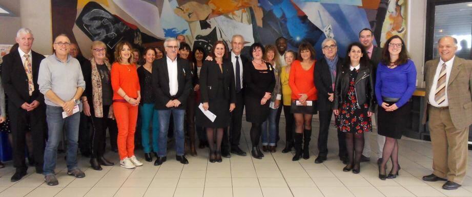En présence des élus, le Centre communal d'action sociale a distingué ses médaillés du travail et félicité ses retraités.