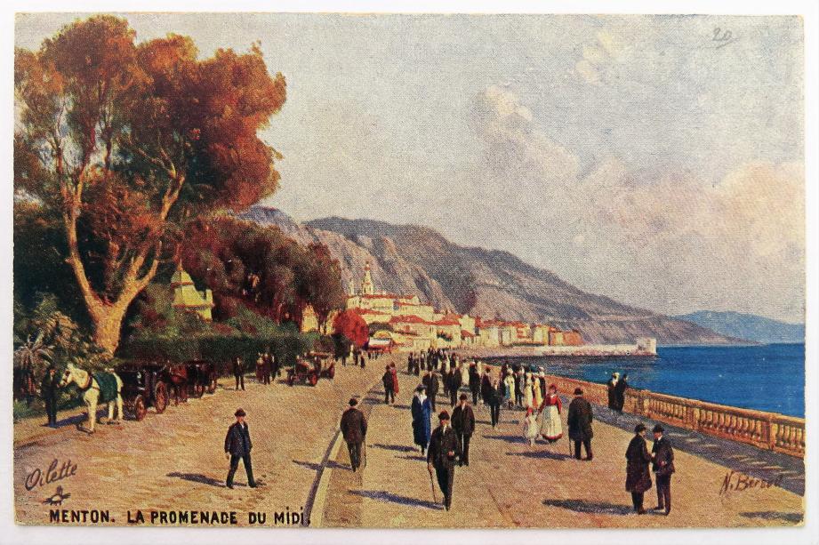 La Promenade du Midi.(DR)