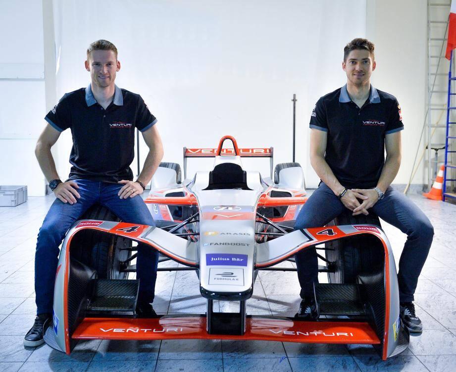 Maro Engel et Edoardo Mortara, c'est une histoire de gosses, qui commence sur les pistes de karting,  et qui se poursuit sur des monoplaces électriques.