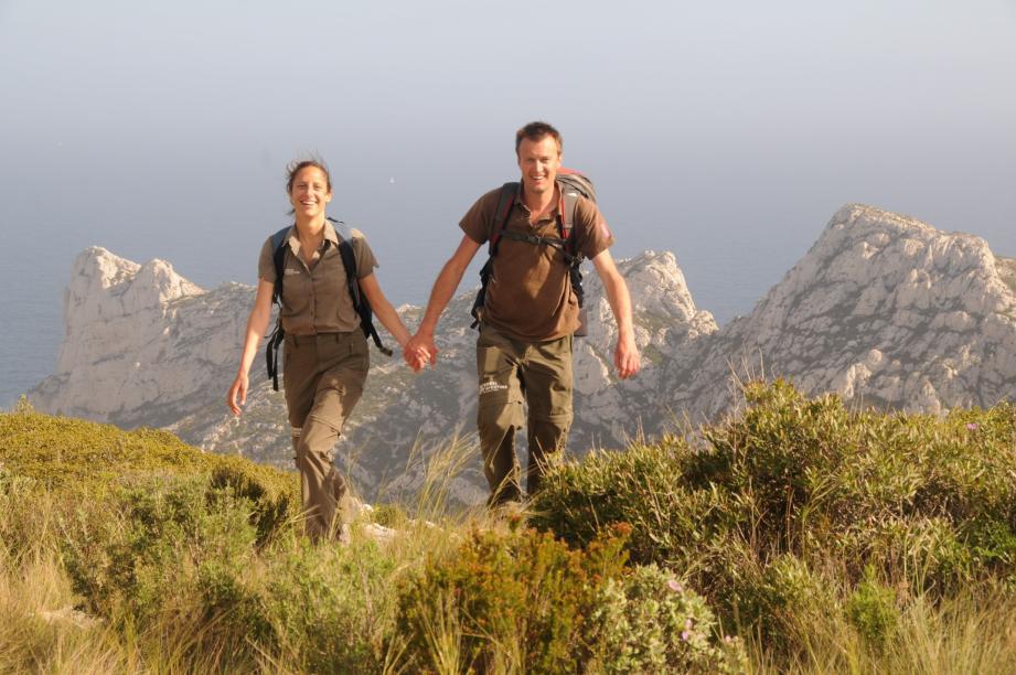 Aurélie Derreumaux et Laurent Granier ont sillonné la France à pied pendant toute une année, en 2011.