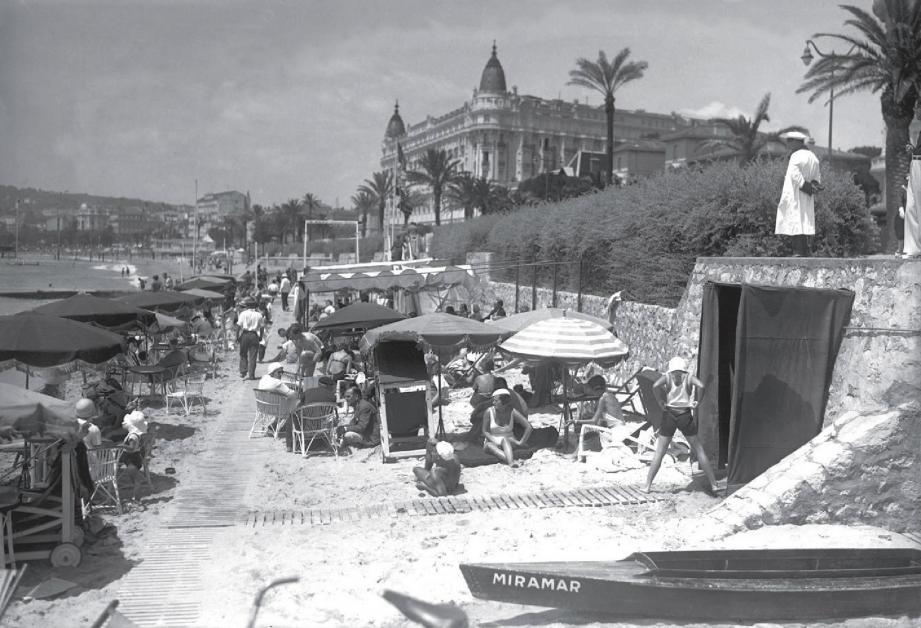 Il faisait déjà bon vivre sur la Côte en 1958.