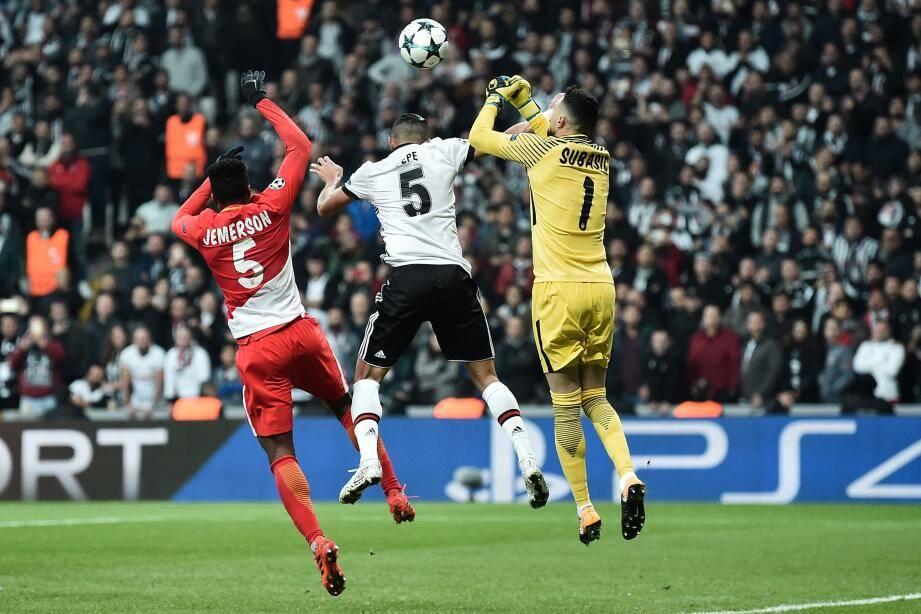 Les Monégasques sont à la lutte pour leur survie en Ligue des Champions.