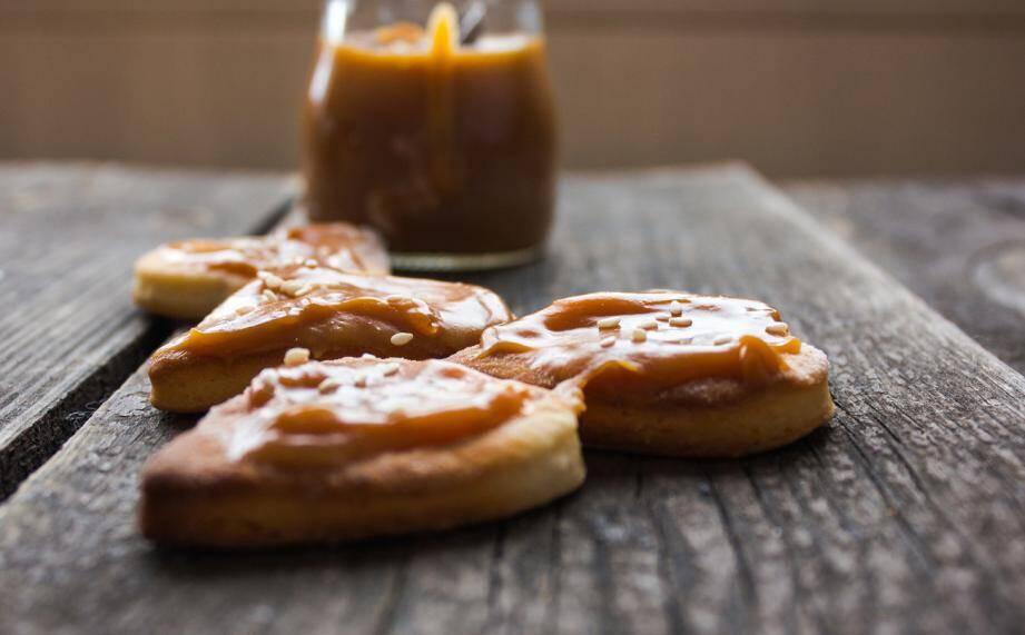 LA RECETTE DU JOUR. Cookies au caramel