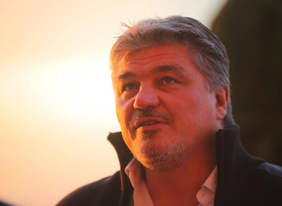 David Douillet à Saint-Raphaël.