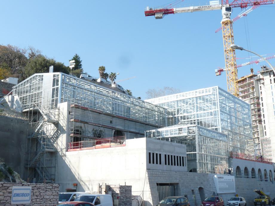 Le secteur de la construction participe largement aux performances économiques de Monaco.
