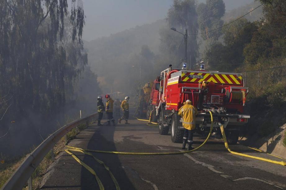 Un incendie s'est déclaré il y a quelques jours sur les hauteurs de Menton. En cause notamment la sécheresse persistante.