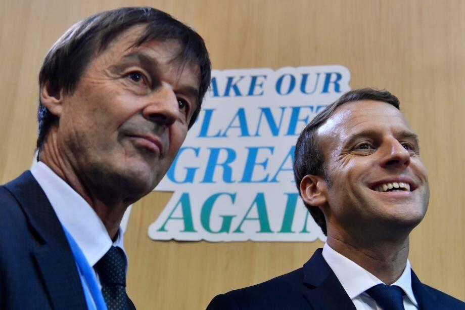 Ministre démissionnaire, Nicolas Hulot ne veut plus être la caution verte d'Emmanuel Macron.