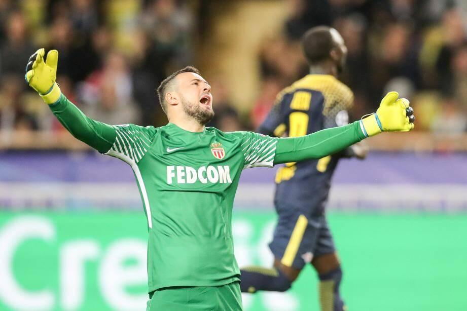 Contre Leipzig le gardien croate a encaissé trois buts en une demi-heure.
